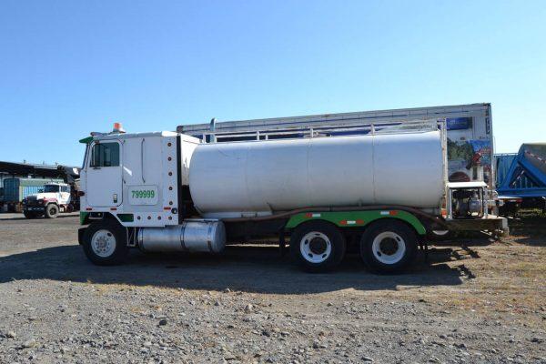 Camión para transportar liquidos