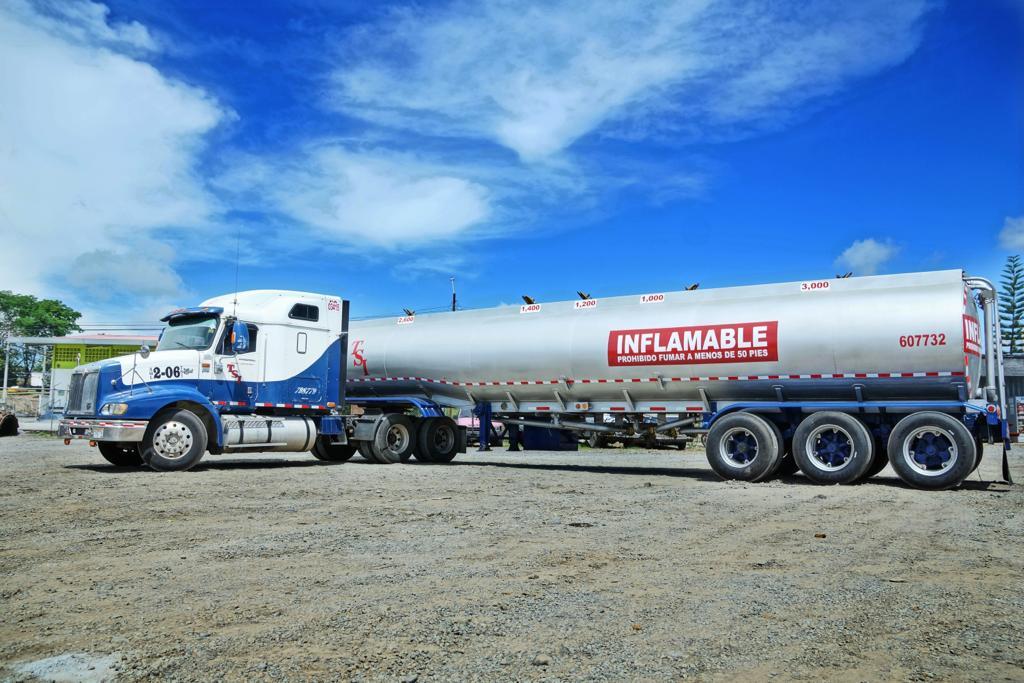 Mula para transportar material inflamable